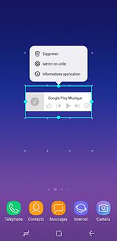 Samsung Galaxy A8 - Applications - Personnaliser l