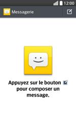 LG F70 - Contact, Appels, SMS/MMS - Envoyer un SMS - Étape 4