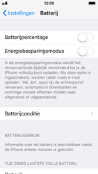 Apple iphone-5s-met-ios-11-model-a1457 - iOS 11 - Conditie van de batterij controleren - Stap 4