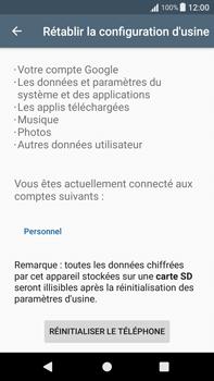 Sony Xperia XA1 Plus - Device maintenance - Retour aux réglages usine - Étape 7