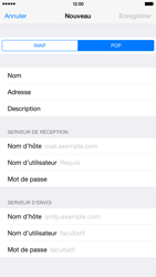 Apple iPhone 6 Plus iOS 8 - E-mail - Configuration manuelle - Étape 11