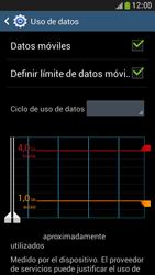 Samsung Galaxy S4 Mini - Internet - Ver uso de datos - Paso 11