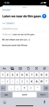 Apple iphone-11-model-a2221 - E-mail - Hoe te versturen - Stap 8