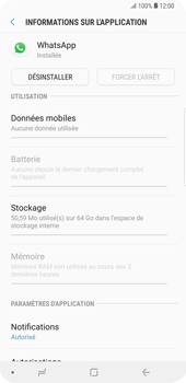 Samsung Galaxy S9 Plus - Applications - Supprimer une application - Étape 6