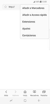 Samsung Galaxy S8 - Internet - Configurar Internet - Paso 24