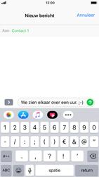 Apple iPhone 6 - iOS 12 - MMS - hoe te versturen - Stap 7
