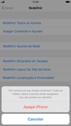 Apple iPhone 8 - iOS 13 - Funções básicas - Como restaurar as configurações originais do seu aparelho - Etapa 7