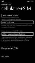 Nokia Lumia 830 - Réseau - Utilisation à l