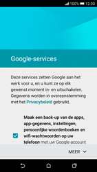 HTC Desire 626 - Applicaties - Account aanmaken - Stap 15