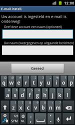 Samsung I9100 Galaxy S II - E-mail - Handmatig instellen - Stap 11