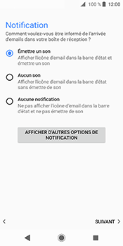 Sony Xperia XZ2 - E-mails - Ajouter ou modifier votre compte Outlook - Étape 15