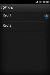 Sony Xperia E - Mensajería - Configurar el equipo para mensajes multimedia - Paso 17