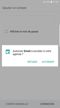 Samsung Samsung G928 Galaxy S6 Edge + (Android M) - E-mail - Configuration manuelle (outlook) - Étape 7