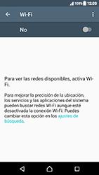 Sony Xperia XZ (F8331) - WiFi - Conectarse a una red WiFi - Paso 5