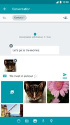 Nokia 8 (SingleSim) - MMS - Sending a picture message - Step 17