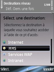 Nokia E75 - Mms - Configuration manuelle - Étape 11
