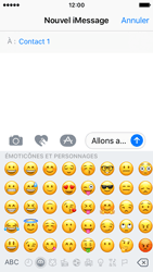 Apple iPhone SE - iOS 10 - iOS features - Envoyer un iMessage - Étape 15
