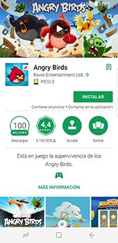Samsung Galaxy S8 - Aplicaciones - Descargar aplicaciones - Paso 17