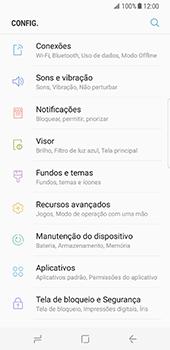 Samsung Galaxy S8 - Internet no telemóvel - Como ativar os dados móveis -  4
