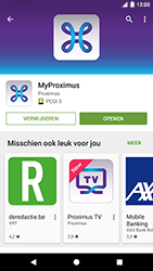 Google Pixel - Applicaties - MyProximus - Stap 9