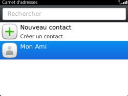 BlackBerry 9320 - Contact, Appels, SMS/MMS - Ajouter un contact - Étape 9