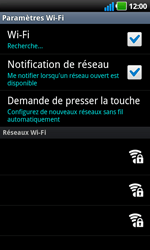 LG P970 Optimus Black - Wifi - configuration manuelle - Étape 6