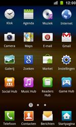 Samsung I9100 Galaxy S II - Internet - aan- of uitzetten - Stap 3