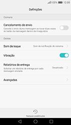 Huawei P9 - SMS - Como configurar o centro de mensagens -  5