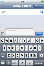 Apple iPhone 3G S - MMS - hoe te versturen - Stap 3