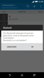 HTC One M8s (Model 0PKV100) - Contacten en data - Contacten overzetten via Bluetooth - Stap 10