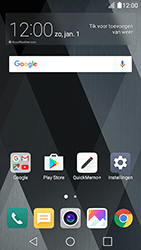LG K10 (2017) - SMS en MMS - Handmatig instellen - Stap 2