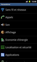 Samsung I8160 Galaxy Ace II - Wifi - configuration manuelle - Étape 3