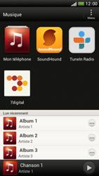 HTC One S - Photos, vidéos, musique - Ecouter de la musique - Étape 4