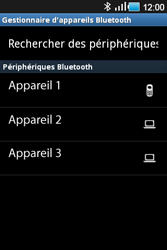 Samsung Galaxy Ace - Photos, vidéos, musique - Envoyer une photo via Bluetooth - Étape 10
