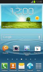 Samsung I8730 Galaxy Express - Voicemail - Handmatig instellen - Stap 1