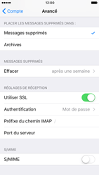 Apple iPhone 6s iOS 10 - E-mail - Configurer l