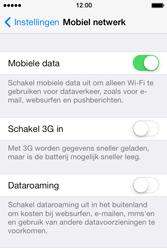 Apple iPhone 4 S iOS 7 - Netwerk - Wijzig netwerkmodus - Stap 5