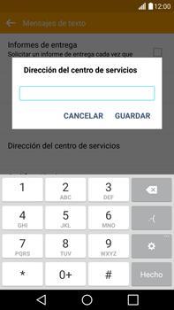 LG G4 - Mensajería - Configurar el equipo para mensajes de texto - Paso 8