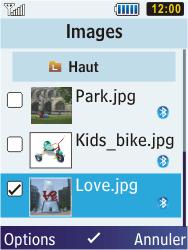 Samsung S5610 Primo - E-mail - envoyer un e-mail - Étape 9