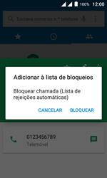 """Alcatel Pixi 4 (4"""") - Chamadas - Como bloquear chamadas de um número -  8"""