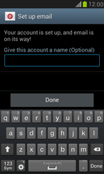 Samsung I8190 Galaxy S III Mini - E-mail - Manual configuration (outlook) - Step 10