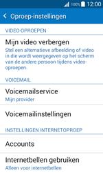 Samsung J100H Galaxy J1 - Voicemail - Handmatig instellen - Stap 7