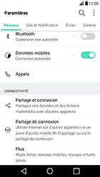 LG X Power - Réseau - Utilisation à l