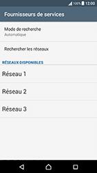 Sony Xperia X Performance (F8131) - Réseau - Sélection manuelle du réseau - Étape 8