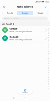 Huawei P Smart - Email - Sending an email message - Step 6