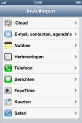 Apple iPhone 4 met iOS 6 - E-mail - e-mail instellen: POP3 - Stap 3