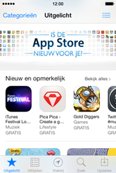 Apple iPhone 4 met iOS 7 - Applicaties - Account aanmaken - Stap 2