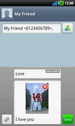 LG P970 Optimus Black - Mms - Sending a picture message - Step 10