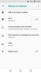 Crosscall Core X3 - Internet et connexion - Partager votre connexion en Wi-Fi - Étape 5