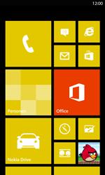 Nokia Lumia 820 LTE - Voicemail - handmatig instellen - Stap 1